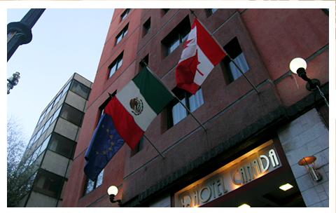 hotel canada 5 de mayo: